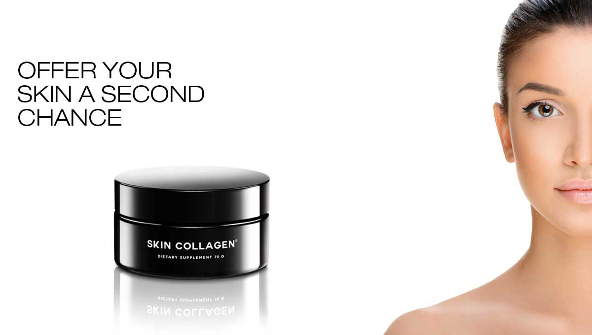 OFFER YOUR SKIN A SECOND CHANCE WITH SKIN COLLAGEN